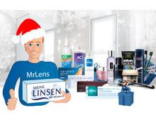 15% auf Kontaktlinsen & Linsenmittel bei MrLens.ch