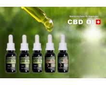 15% Rabatt auf CBD Öl von Hemplix