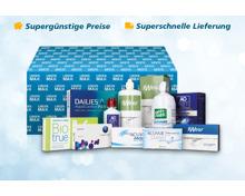 -15% Rabatt auf Kontaktlinsen und Pflegemittel