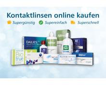 15% Rabatt auf Kontaktlinsen und Pflegemittel