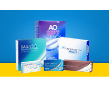 20% Rabatt auf alle Kontaktlinsen & Pflegemittel!