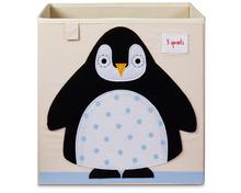 3 Sprouts Spielzeugkiste «Pinguin»