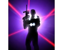 6 Lasertag-Runden für 1 Person
