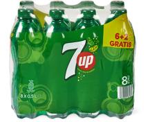 7up Regular und 7up Free im 8er-Pack, 8 x 50 cl