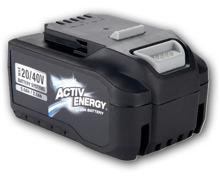 ACTIV ENERGY 20 V/40 V Akku