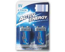 ACTIVE ENERGY® Alkaline-Batterien