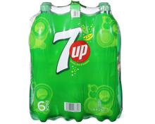 Alle 7up und 7up H2Oh! im 6er-Pack, 6 x 1.5 Liter sowie 6 x 1 Liter