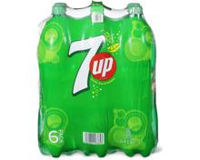 Alle 7up- und -H2OH! im 6er-Pack, 6 x 1.5 Liter sowie 6 x 1 Liter