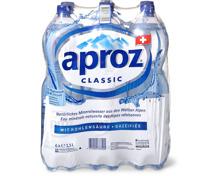 Alle Aproz- oder -Plus im 6er-Pack, 6 x 1.5 Liter sowie 6 x 1 Liter