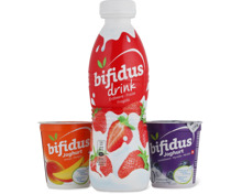 Alle Bifidus-Drinks und -Joghurts