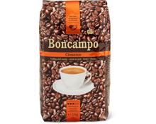 Alle Boncampo Kaffees, in Bohnen und gemahlen, 500 g und 1 kg, UTZ