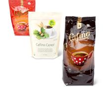 Alle Cafino-, Noblesse- und Zaun-Instant-Kaffees, UTZ