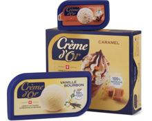 Alle Crème d'Or Glaces, in Dosen und Mehrfachpackungen