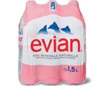 Alle Evian in Mehrfachpackungen