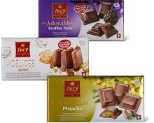 Alle Frey-Les Délices-, -Les Adorables- und -Duett-Tafelschokoladen, 100 g, UTZ