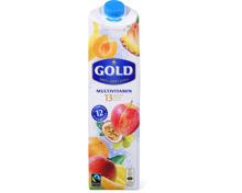 Alle Gold Fruchtsäfte und Actilife Getränke 1 Liter