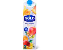 Alle Gold Säfte 1 Liter und im 3er-Pack, 3 x 25 cl