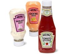Alle Heinz-Ketchup und -Kaltsaucen