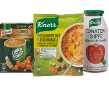 Alle Knorr Suppen
