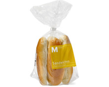 Alle M-Classic Kleinbrote abgepackt