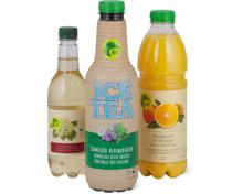 Alle Migros-Bio-Getränke ungekühlt