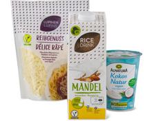 Alle Milchersatz-Produkte vegan