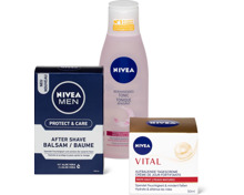 Alle Nivea- und Nivea Men-Gesichtspflegeprodukte, Nivea-Creme, -Soft sowie -Care