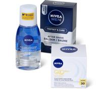 Alle Nivea- und Nivea Men-Gesichtspflegeprodukte, Nivea-Creme, -Soft und -Care sowie Nivea Baby