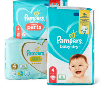Alle Pampers Windeln