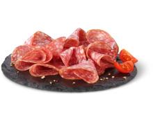 Alle Rapelli Salami-Classico und -Rustico am Stück sowie geschnitten