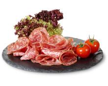 Alle Rapelli Salami-Classico und -Rustico, geschnitten und am Stück