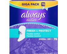 Always Slipeinlagen Fresh & Protect