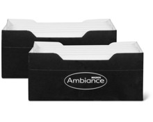 Ambiance Haushaltskerzen im Duo-Pack