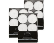 Ambiance Maxi-Teelichter in Aluminiumbecher im 3er-Pack