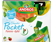 Andros Les Compotes Pocket Apfel