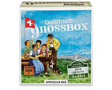 Appenzeller Bier Gnossbox, 9 x 33 cl