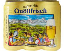 Appenzeller Bier Quöllfrisch naturtrüb