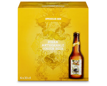 Appenzeller Ginger Beer, 6 x 33 cl