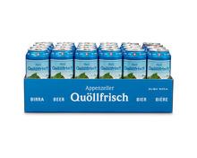 Appenzeller Quöllfrisch, Dosen, 24 x 50 cl