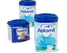 Aptamil- und Milumil-Folge- sowie -Juniormilchen