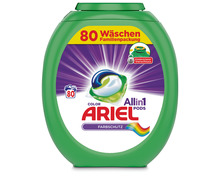 Ariel All-in-1 Pods Colorwaschmittel, 80 Stück