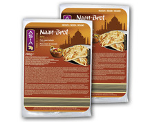 ASIA Naan-Brot