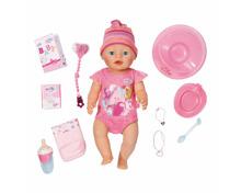 Baby Born Puppe Mädchen, interaktiv 43 cm