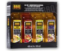 BBQ Gewürzöl-Set, 4-teilig