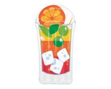 Bestway Luftmatratze Tropical Beverage Lounge Früchte