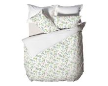 Bettwäsche mit Blütenzweigen