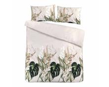 Bettwäsche mit tropischen Pflanzen