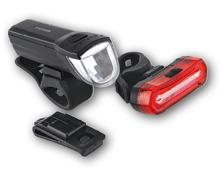 BIKEMATE® LED-Velolicht, 2-teilig