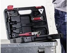 BIKEMATE® Velo-Werkzeugkoffer-Set, 18-teilig