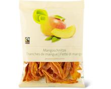 Bio-, Fairtrade Mangoschnitze getrocknet